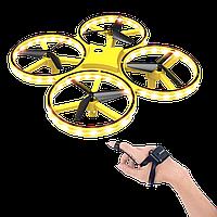 Квадрокоптер с сенсорным управлением,  управляемый жестами руки