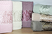 Банные турецкие полотенца Lux ELLA, фото 5