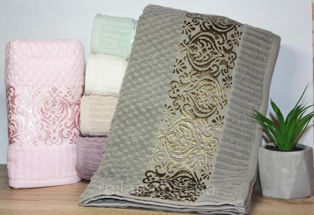 Банные турецкие полотенца Lux ELLA