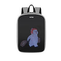 LED Рюкзак с анимационным дисплеем ID&ND A1 (Серый)