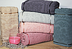 Банные турецкие полотенца Lux DORA, фото 5
