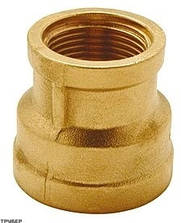 Муфта редукционная 1.1/2 x 1 TDM Brass