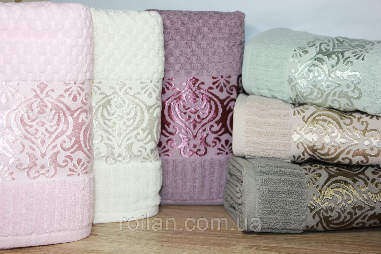 Метровые турецкие полотенца LUX ELLA