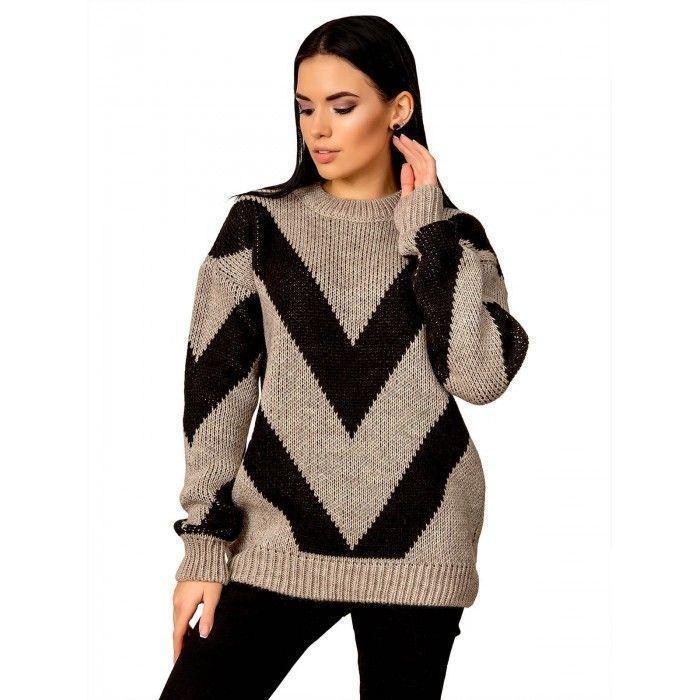 Теплий светр розмір 44-48