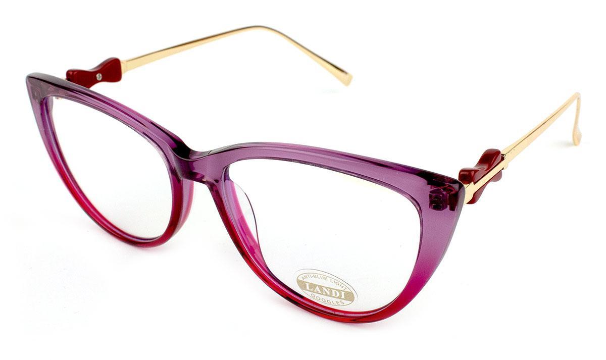 Компьютерные очки Landi 0476-C2-3 Blue Blocker 100% Защита
