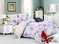 Комплект постельного белья двухспальный с компаньоном PL2053 ТМ TAG 2-спальный, постельное белье двухспальное