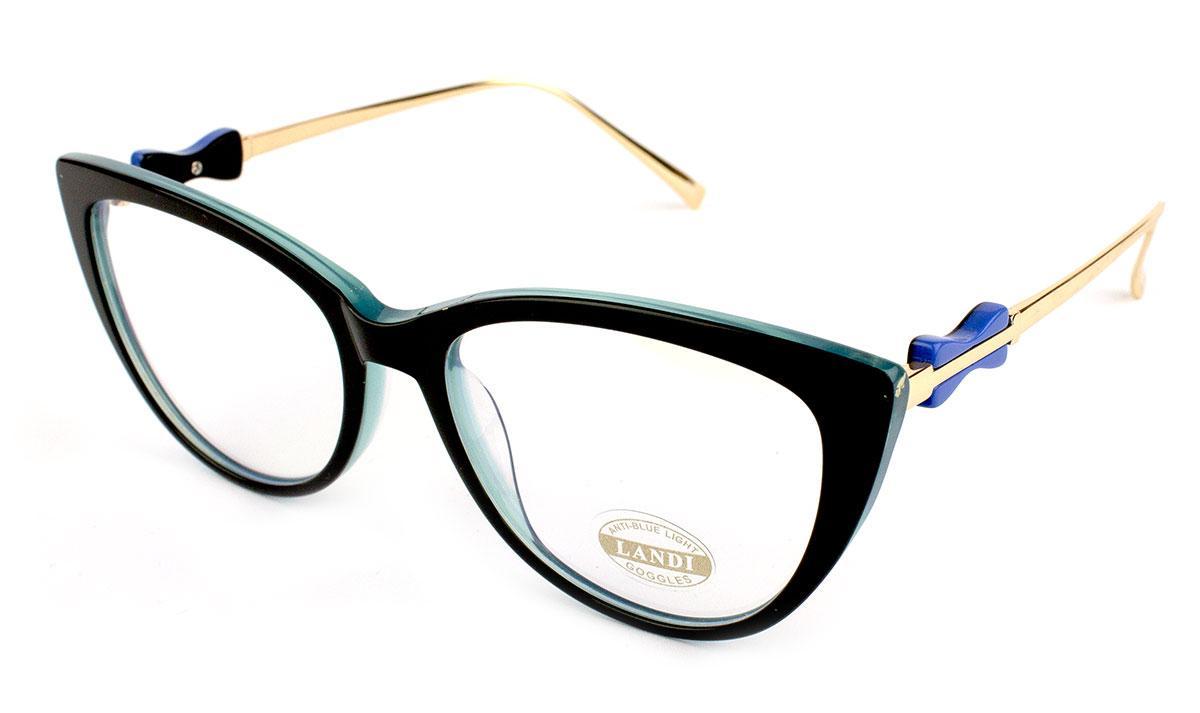 Компьютерные очки Landi 0476-C4-1 Blue Blocker 100% Защита