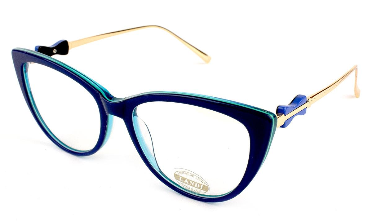 Компьютерные очки Landi 0476-C4 Blue Blocker 100% Защита