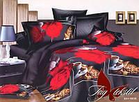 Комплект постельного белья двухспальный R835 ТМ TAG 2-спальный, постельное белье двухспальное