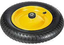 Колесо пневматичне, 3.00-8, D360 мм, підшипник внутрішній діаметр 16мм, довжина осі 92мм PALISAD