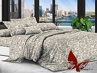 Комплект постельного белья Евро XHY4547 ТМ TAG Evro, постельное белье евро