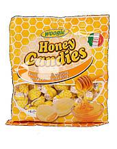 Леденцы (конфеты) Woogie Honey Candies медовый вкус 225 г Италия