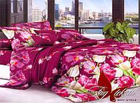 Комплект постельного белья Евро XHY914 ТМ TAG Evro, постельное белье евро