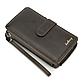 Мужской Кошелек Портмоне Baellerry (S6712) для Телефона с Ремешком Темно-Коричневый, фото 9