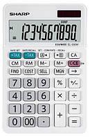 Калькулятор SHARP Desktop Box SH-EL330W white
