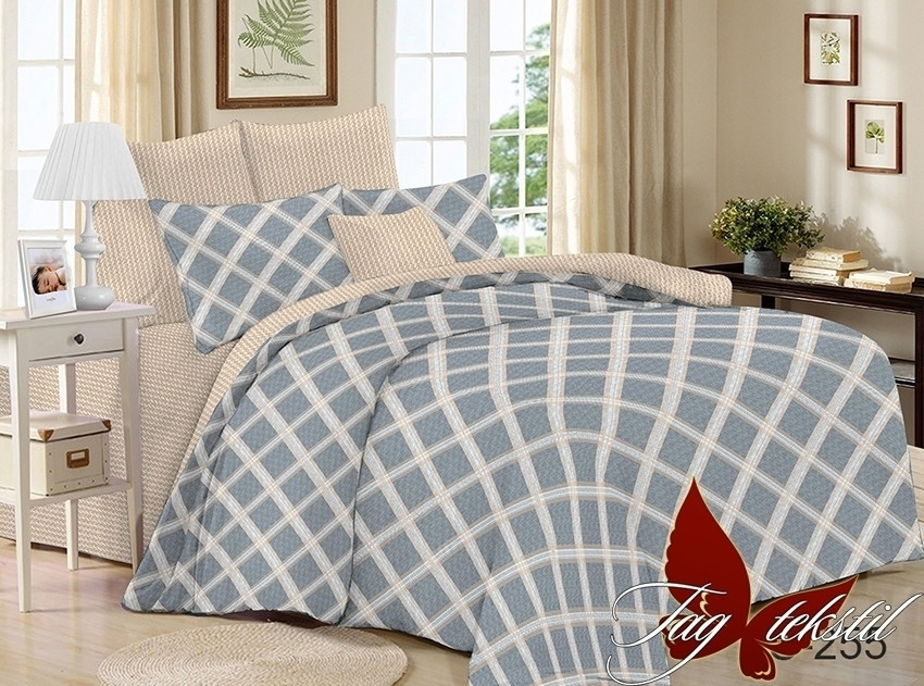 Комплект постельного белья Евро с компаньоном S255