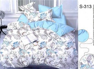 Комплект постельного белья Евро с компаньоном S313 ТМ TAG Evro, постельное белье евро