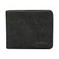 Мужской Кошелек Бумажник Baellerry (D8661) Маленький Искусственная Кожа Темно-Серый, фото 3