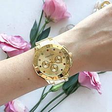 Женские наручные часы в стиле Pandora золотые. Наручные кварцевые часы из нержавеющей стали. Годинник жіночій, фото 3