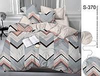 Комплект постельного белья Евро с компаньоном S370 ТМ TAG Evro, постельное белье евро