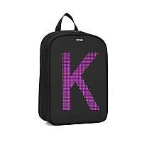 LED Рюкзак с анимационным дисплеем ID&ND A1 (Черный)
