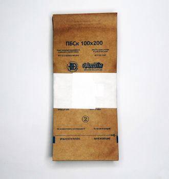 "Крафтпакеты для стерилизации ""АлВин""  100х200 мм с индикатором"