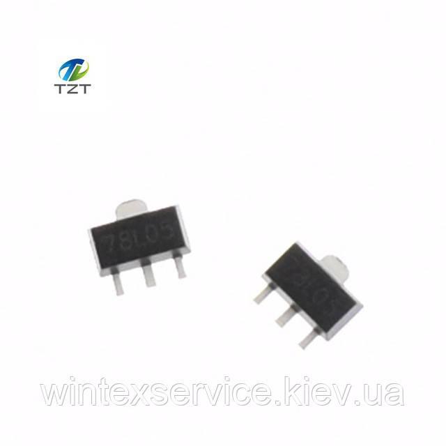 Микросхема 78L05  SOT-89