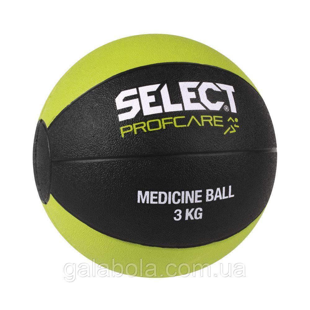 Мяч медицинский SELECT (3 кг)