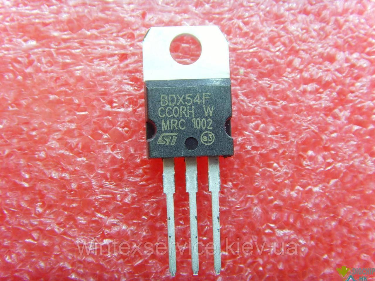 Транзистор BDX54F 60V 8A PNP darlingtone