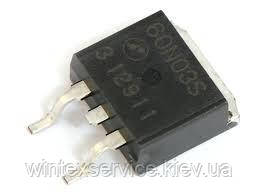 Транзистор AP60N03S демонтаж
