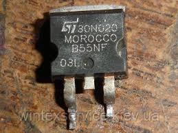 Транзистор STB55NF03L