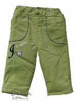 Утепленные брюки для девочки