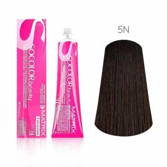 Купить Стойкая краска для волос Matrix SOCOLOR.beauty 5N, Matrix Professional