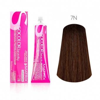 Купить Стойкая краска для волос Matrix SOCOLOR.beauty 7N, Matrix Professional