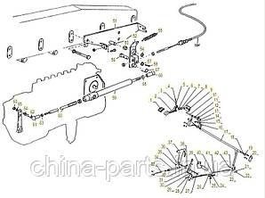 Каталог запчастей#Механизм управления подачей топлива WD615