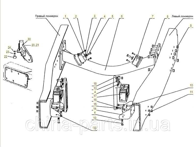 Каталог запчастей#Подвеска двигателя WD615