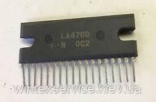Микросхема LA4700 демонтаж