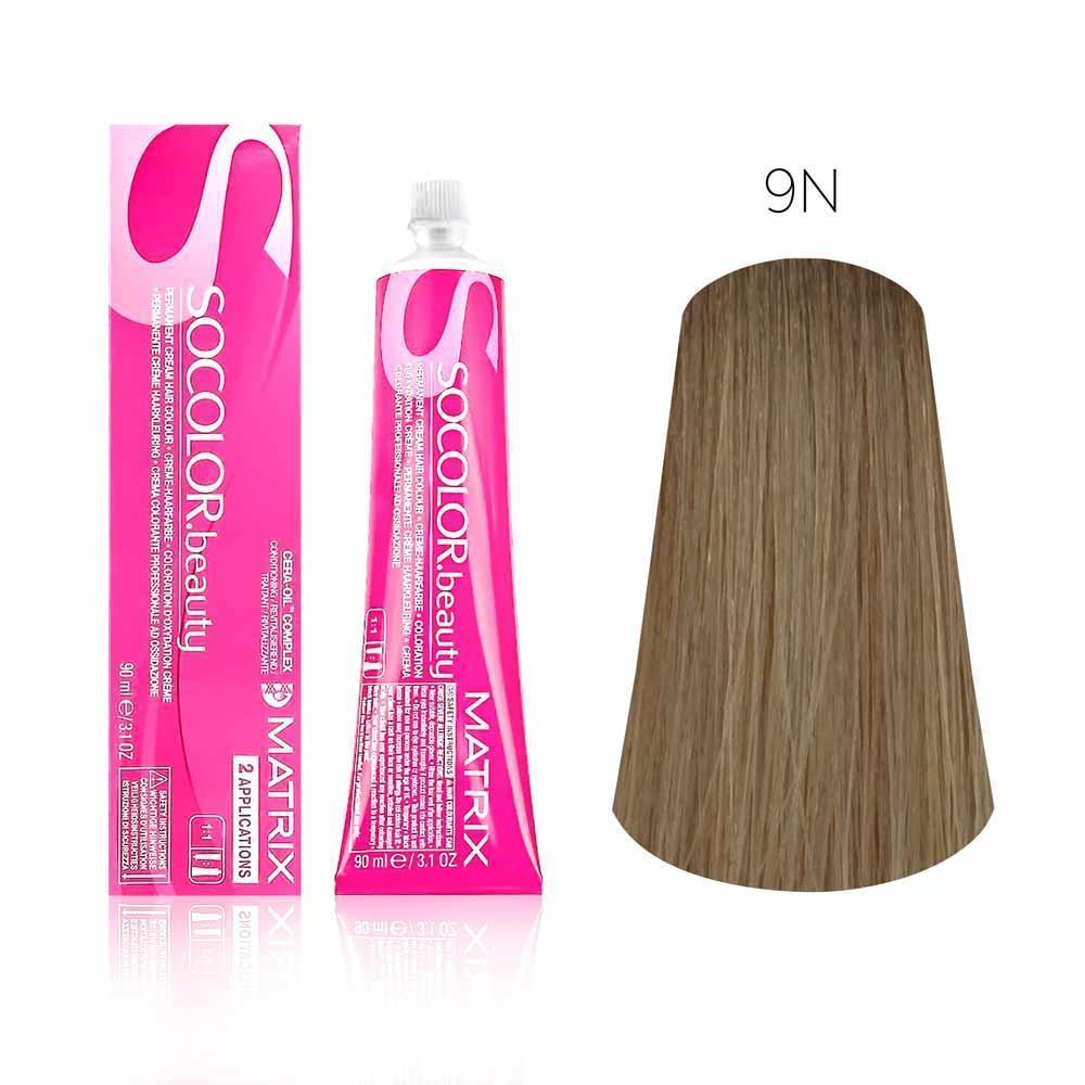 Купить Стойкая краска для волос Matrix SOCOLOR.beauty 9N, Matrix Professional