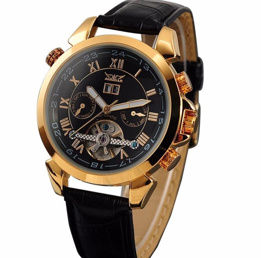 Мужские часы Jaragar 1007 Черные