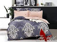 Комплект постельного белья полуторный с компаньоном S286 ТМ TAG 1,5-спальный, постельное белье полуторка