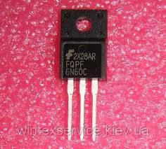 Транзистор FQPF6N60C