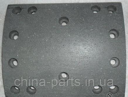 Накладка тормозная задняя 200*220 (широкая нового образца) AZ9231342061