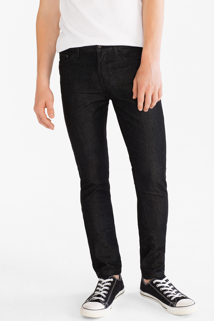Черные джинсы на мальчика подростка C&A Германия Размер 158