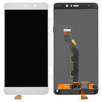 Дисплейный модуль (дисплей и сенсор) для Xiaomi Mi 5s Plus, белый, оригинал