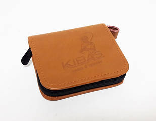 Кошелек для приманок KIBAS коричневый S (KS5001)