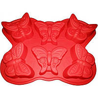 "Форма для выпечки силикон ""Бабочки"" 7119 / Empire"