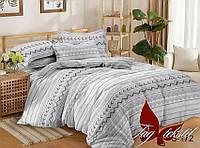 Комплект постельного белья полуторный с компаньоном S172 ТМ TAG 1,5-спальный, постельное белье полуторка