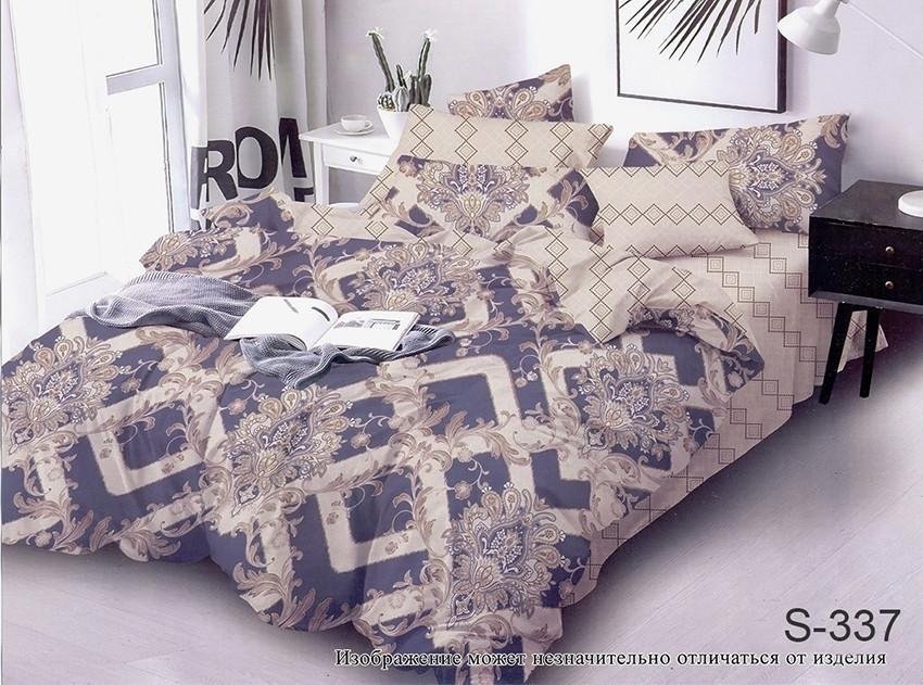 Комплект постельного белья полуторный с компаньоном S337