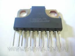Микросхема TA8200AH Демонтаж