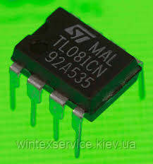 Микросхема TL081CP